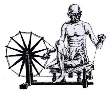 INDIA SAIJIKI       (WKD - INDIA): Khadi Gandhi Birthday