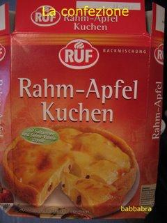 Rahm-Apfel Kuchen ruf