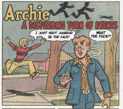 Do I have a sign on my garage that says Dead Jughead Storage?