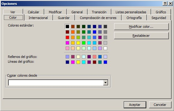 Paleta de colores de Excel – Como cambiar colores ~ JLD Excel en ...