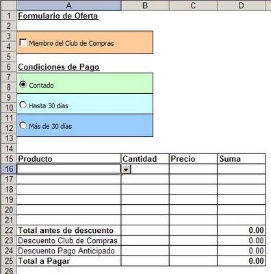 Excel agregando controles en hojas de c lculo jld for Formatos y controles para restaurantes gratis