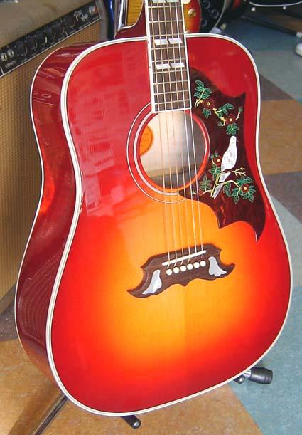 Vintage Gibson Guitars: Gibson Dove Guitar
