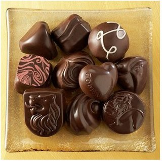 Godiva Chocolate: Dark Chocolate Gift Box (27 pcs.) from Amazon.com