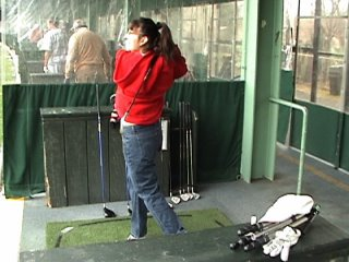 Stacy's Golf Swing