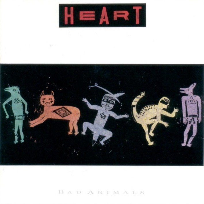 Heart Discography at Discogs  |Heart Jupiters Darling