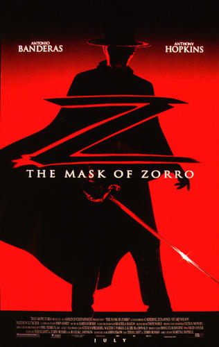 Projections: The Mask of Zorro