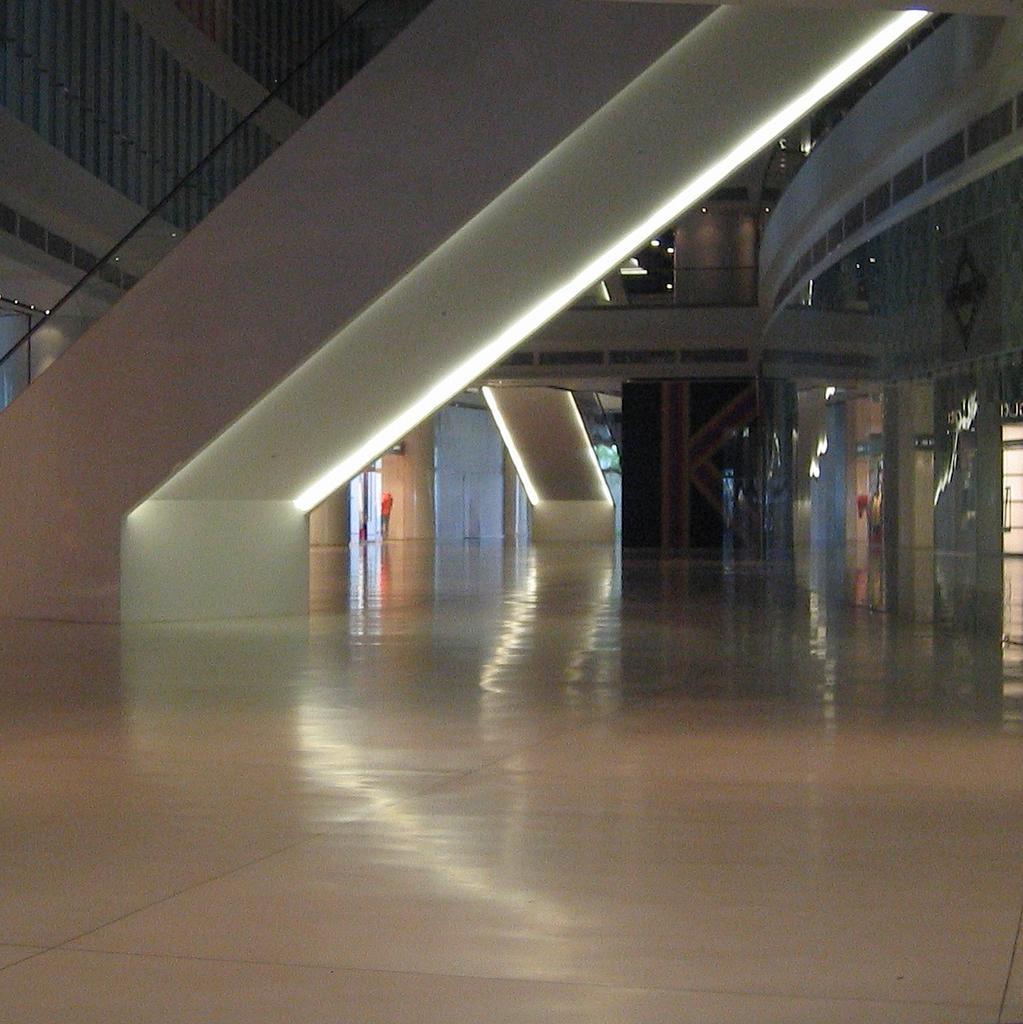 Zlgdesign Avenue K Escalator Lights