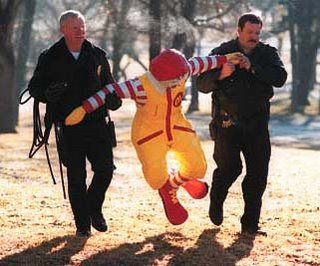 Come with us, Ronald.