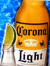 you are thirsty - you will order a Corona Light at lunch