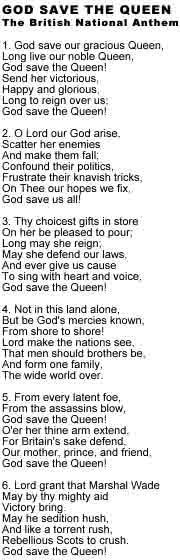 British Nationalists in Wales WATCH: British Anthem ...