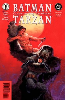Batman / Tarzan: Claws of the Cat-Woman #2