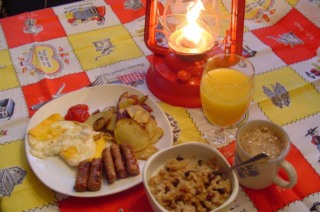 Mom's Sunday Morning Breakfast |Sunday Morning Breakfast