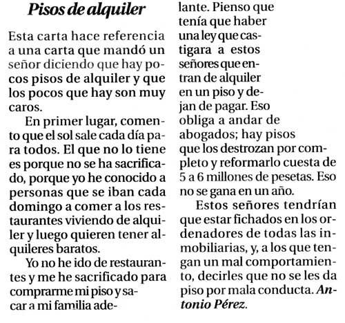 Mojar, Extender Y Vuelta A Empezar: Junio 2006