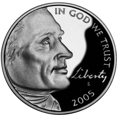 2005 Jefferson Nickel Obverse