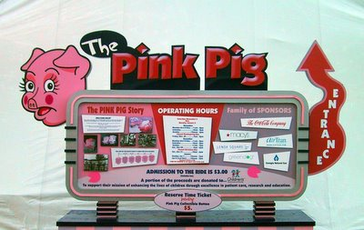 The Pink Pig at Lenox Square