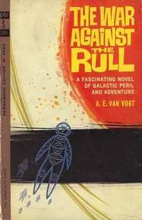 The War Against the Rull: book cover image