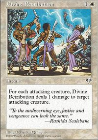 Magic the Gathering card: Divine Retribution