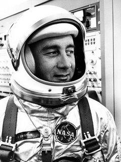 Grissom in Spacesuit