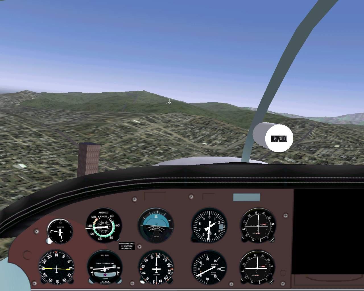 FlightGear Flight Simulator    New Zealand Scenery: South