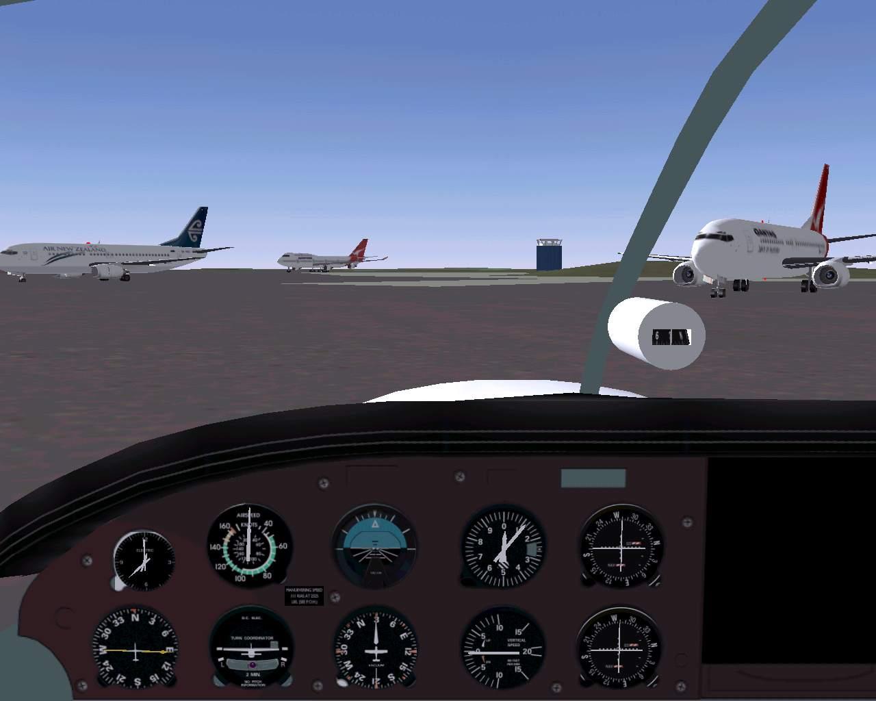 FlightGear Flight Simulator    New Zealand Scenery