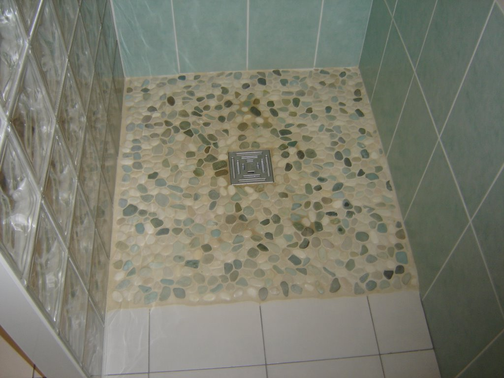 Carreaux Douche Italienne Douche Italienne Galets For Carrelage