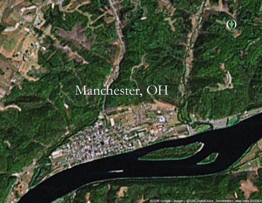 Manchester Ohio Map.Salto Sobrius Ohio Rock