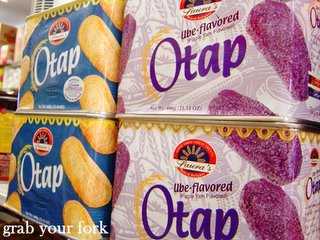 Ube otap pastry biscuits