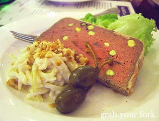 pistachio duck terrine