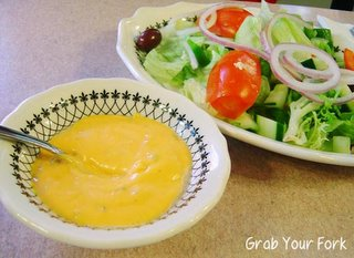 salad with Russian dressing