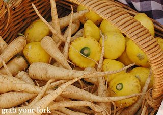 parsnips and squash