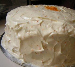 Ricotta Frosting Carrot Cake