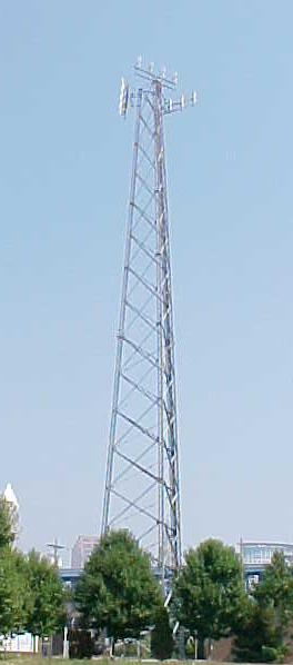 COMMUNICATIONS ANTENNA SUPPORTING STRUCTURES: Cellular/PCS