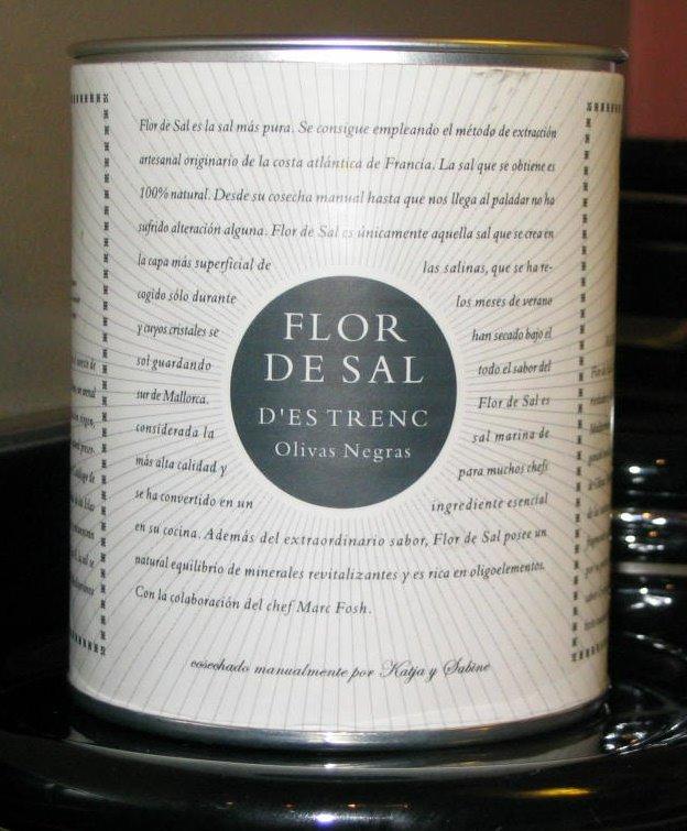 foodies across borders product review flor de sal d 39 es trenc olivas negras. Black Bedroom Furniture Sets. Home Design Ideas