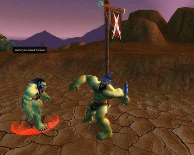 World of Warcraft nackte Spieler, Alt und jung hausgemacht