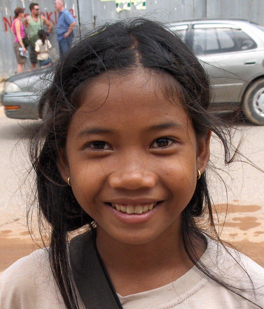 Kambodscha Girl