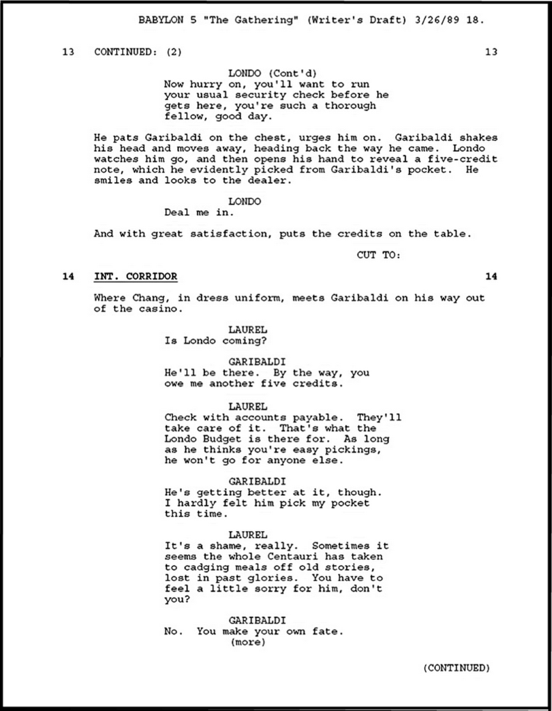 how to write a comic book script format