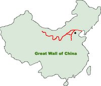 Great Wall Of China Map View.Surveying Mapping And Gis Surveying The Great Wall Of China