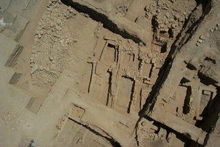 Découverte d'un complexe mortuaire à Umm el Marra en Syrie