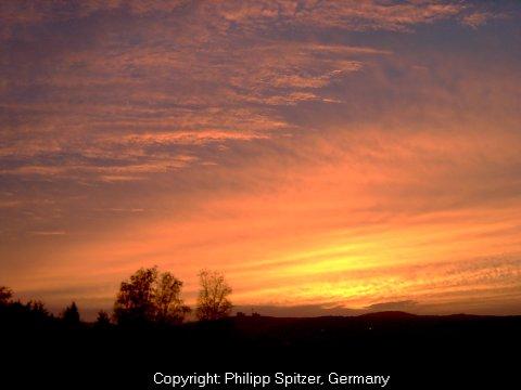 Warum Ist Der Sonnenuntergang Rot