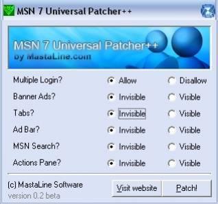 msn7.0 para