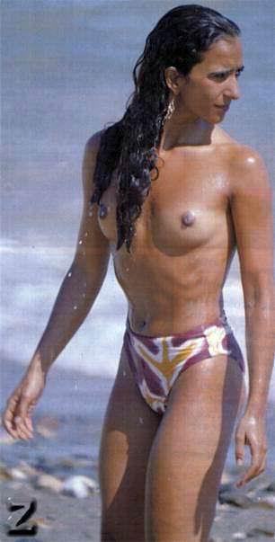 Rosario Flores Puro Bronce Al Desnudo Marianodigital