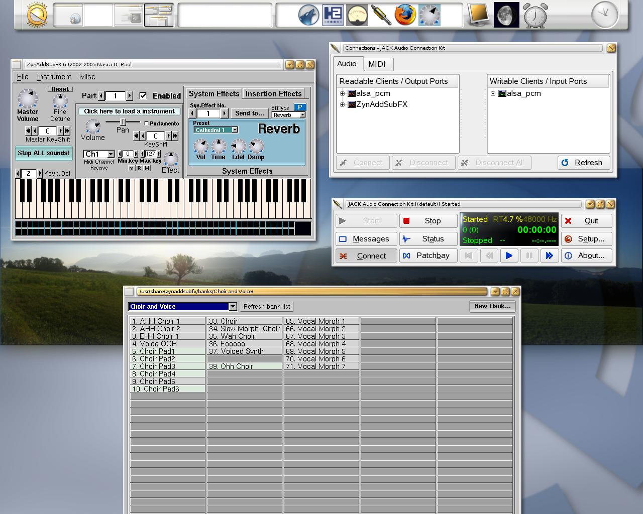 Linux Rock Star: Virtual Instrument: ZynAddSubFX