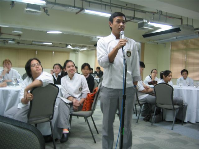 DLS-CSB Admin Blog: Practicumers' Exit Interview with the