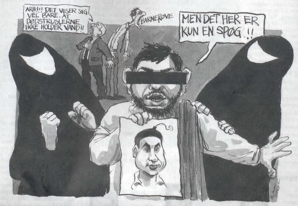 racist jokes dansk