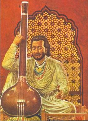 Indian Temples & Iconography: Shiva Veenadhara, the Great Musician.tansen