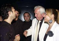 Tarkan with mayor