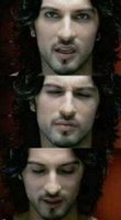 Italian film director Ferzan Özpetek directed Tarkan's music video for the 2001 Hup song and seemingly worked his iconic status into the role by making the singer resemble another iconic image - Jesus Christ