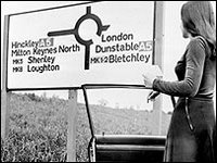 Milton Keynes became the archetypal 1970s new town