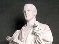 Bonhoeffer's statue on the West Front of Westminster Abbey