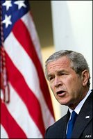Critics say that Mr Bush's case for going to war in Iraq has been harmed.